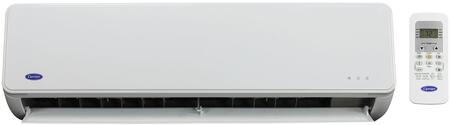 "Carrier 40MFQ0 27"" Mini Split Ductless Indoor Unit with x Cooling and Heating BTU, Fast and Easy Installation and Built-In Reliability, in white"