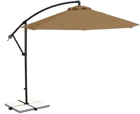 Image of Open Canopy with Stone Olefin Colored Fabric