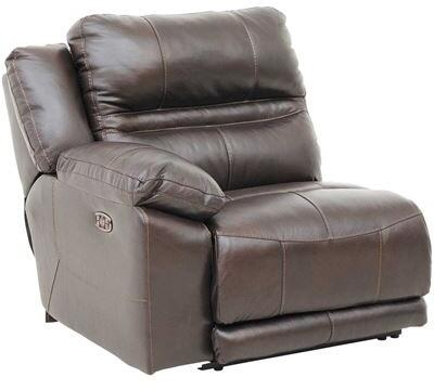 Catnapper 64186128309308309 Bergamo Series Leather Metal Frame  Recliners