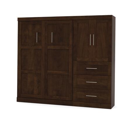 "Bestar Furniture 26897 Pur by Bestar 95"" Full Wall bed kit"