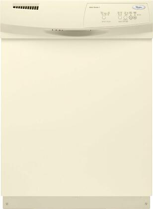 Whirlpool DU1010XTXT 1000 Series Bisque Built-In Full Console Dishwasher with