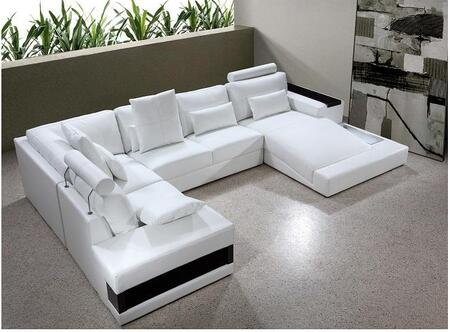 VIG Furniture VG2T0692HL  Sofa and Chaise Other Sofa