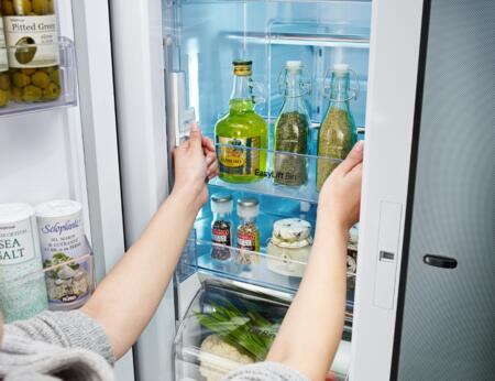 Lg Lpcs34886c 36 Inch 4 Door French Door Refrigerator With