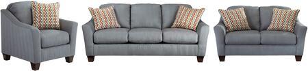 Milo Italia MI2785SLCLAGO Victoria Living Room Sets