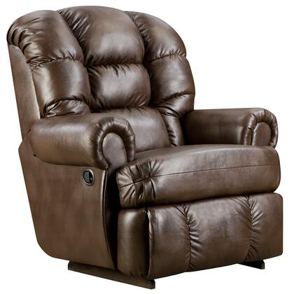 Flash Furniture AM99308550GG Loggins Series Contemporary Leather Wood Frame  Recliners