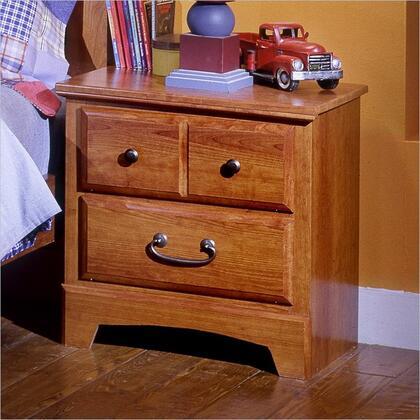 Standard Furniture 4857 City Park Kids Series Childrens Rectangular Wood Night Stand