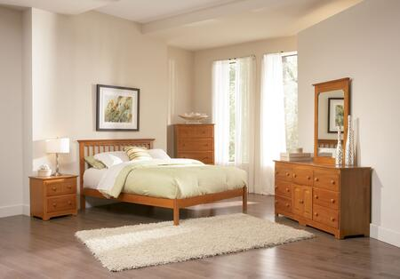 Atlantic Furniture MISOFAWFL  Full Size Bed