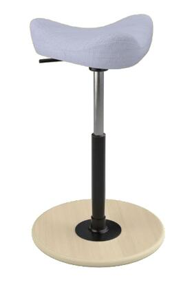 """Varier MOVE SMALL 2700 UMAMI 22"""" - 32"""" Sit-Stand Chair with Umami Upholstery,"""