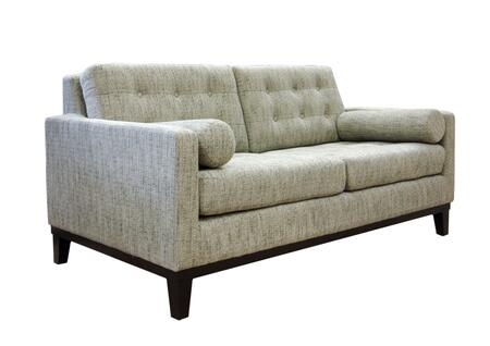 Armen Living LC7252X Centennial Loveseat with Mid-century Design, Button-tufting Detail and Fabric Upholstery in