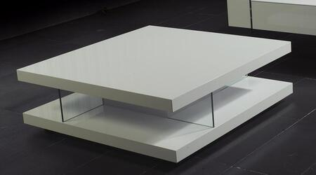 VIG Furniture VGUN8916 White Modern Table
