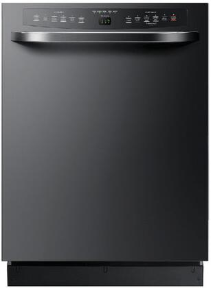 "Haier DWL4035DCBB 24"" Built-In Full Console Dishwasher"