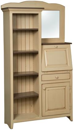 Chelsea Home Furniture 465138BFB Verina Series Freestanding Wood 1 Drawers Cabinet