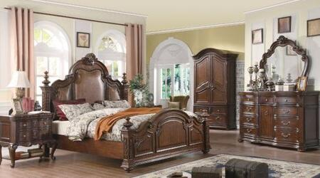 Yuan Tai RS5270Q Ramses Series  Queen Size Panel Bed