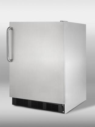 Summit CT67CSSALAM CT67CSS-AM Series Compact Refrigerator with 5.3 cu . ft. Capacity