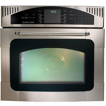 Heartland 9800CD00600 Single Wall Oven, in Black