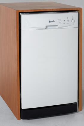 Avanti DWE1812W 1800 Series Built-In Full Console Dishwasher with in White