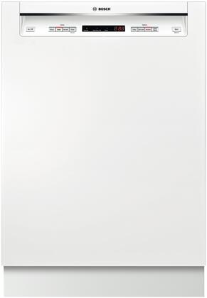 Picture of 300 Series SHE53T52UC 24 15 Place Setting Built In Recessed Handle Dishwasher With 46 dBA  Detergent Tray  AquaStop Leak Protection and LED Remaining Time
