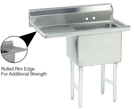 1 Compartment Sink   Left Side Drainboard