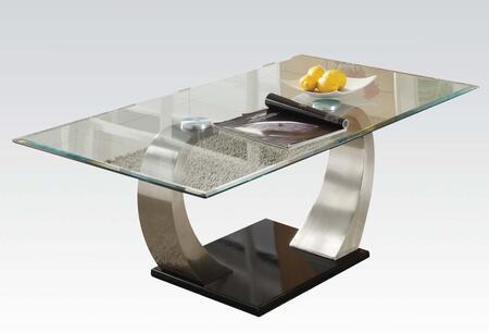 Acme Furniture 18414 Chrome Plated Contemporary Table