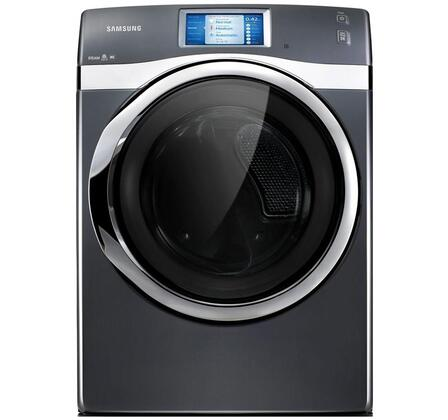 """Samsung Appliance DV457EVGSGR 27"""" Electric 457 Laundry Series Electric Dryer 