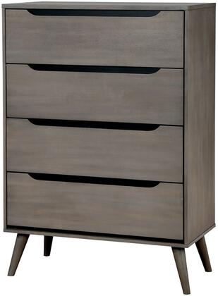 Furniture of America CM7386GYC Lennart Series  Chest