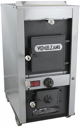 Picture of Norseman VG7100 25 Wood  Coal Add-on Furnace XL with 180 000 BTUs  Heating up to 3 000 sq ft  28 Log Length  160 lb Coal Capacity  Twin 800 CFM Blowers