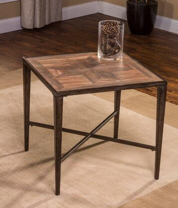 Hillsdale Furniture 5725881 Owen Series Transitional Metal Square None Drawers End Table