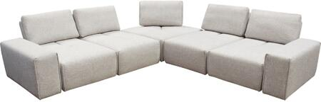 Diamond Sofa JAZZ4AC1SC2ARLB Jazz Series Modular Fabric Sofa