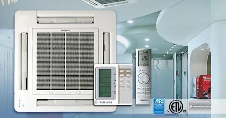 Samsung H105CAV Mini-Split Air Conditioner Air Conditioner Cooling Area,