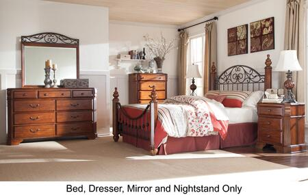Signature Design by Ashley B4293136150719893 Wyatt Queen Bed
