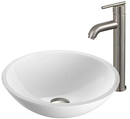 Vigo VGT211 Brushed Nickel Bath Sink