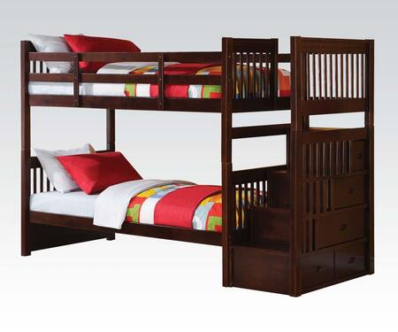 Acme Furniture 37020 Alem Series  Twin Size Bunk Bed