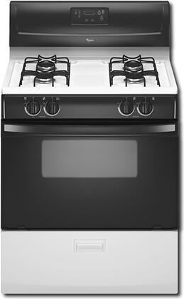 Whirlpool WFG114SVW  Gas Freestanding Range with Sealed Burner Cooktop, 4.4 cu. ft. Primary Oven Capacity, Broiler in Black