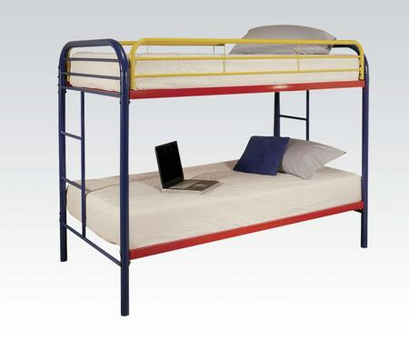 Acme Furniture 02188RNB Thomas Series  Twin Size Bunk Bed