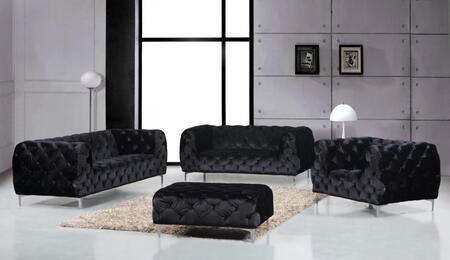 Meridian 646BLSLCO Mercer Living Room Sets