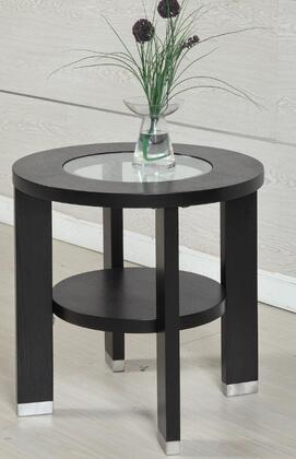 Armen Living LC6205LABL  Round End Table