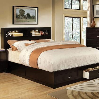 Furniture of America CM7291EXCKBED Gerico II Series  California King Size Bed