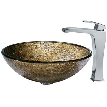 Vigo VGT139 Chrome Bath Sink