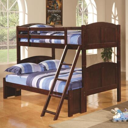 Coaster 460212 Parker Series  Twin over Full Size Bunk Bed