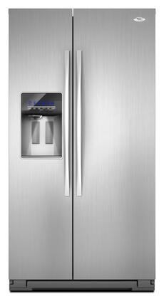 Whirlpool GSF26C4EXS Freestanding Side by Side Refrigerator