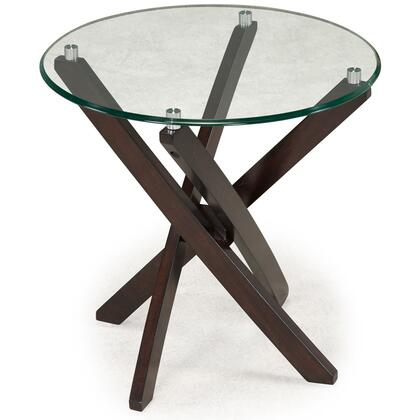 Magnussen T218405 Xenia Series Transitional Round End Table