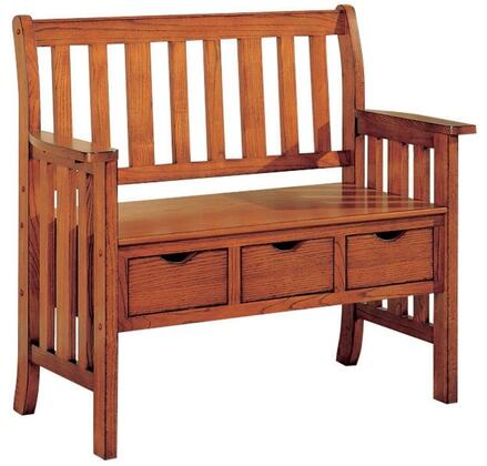 Coaster 300075 Benches Series Accent  Wood Bench