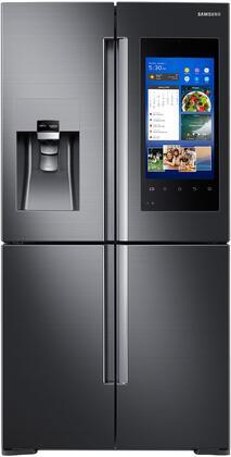 """Samsung RF28M9580S 36"""" 4-Door Flex With Family Hub, 28 cu. ft. Capacity, FlexZone, Energy Star Certified, Ice Maker, Door Alarm, Water Filter Indicator, in"""