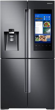 "Samsung Appliance RF28M9580Sx 36"" 4-Door Flex With Family Hub, 28 cu. ft. Capacity, FlexZone, Energy Star Certified, Ice Maker, Door Alarm, Water Filter Indicator, in"