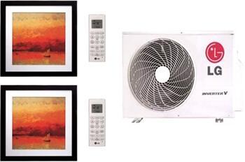 LG 701827 Dual-Zone Mini Split Air Conditioners