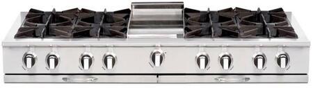 "Capital CGRT604G4L 60"" Culinarian Series Liquid Propane Open Burner Style Cooktop"