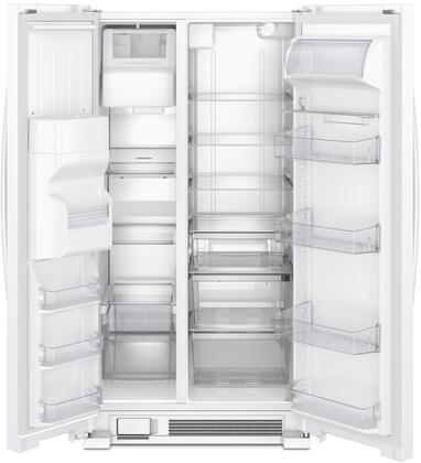Whirlpool WRS321SDHW 33 Inch Side by Side Refrigerator, in