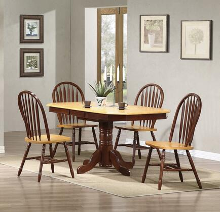 Sunset Trading DLUTCP3660820NLO5PC Sunset Oak Selections Din