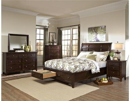 Queen Bed with a storage