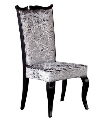 VIG Furniture VGUNAC014 Armani Xavira Series Modern Fabric Wood Frame Dining Room Chair